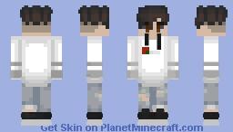 white boy Minecraft Skin