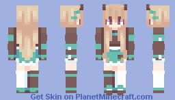 Konna sekai Minecraft Skin