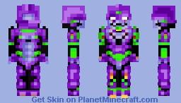 Evangelion Unit 01 Minecraft Skin