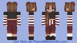 le egirl (first FINISHED skin) Minecraft Skin