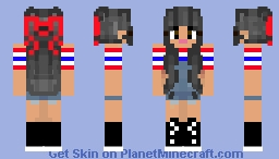 Final ~~ Asian Chic w/ space buns Minecraft Skin