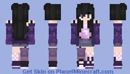 Purple Bomb Minecraft Skin