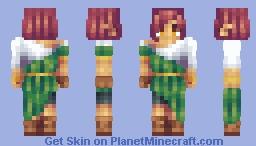 Olive Minecraft Skin