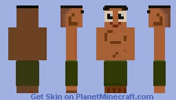 Tipo [Emperor's New Groove] Minecraft Skin