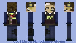 CSGO Counter-terrorist Agent Ava Minecraft Skin