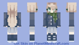"""He does care about me-! When he abandoned me he left me with a scarf"" Minecraft Skin"