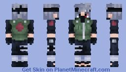 Kakashi Hatake | Naruto | Sharingan Minecraft Skin