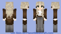 Peasant Girl [Free To Use] Minecraft Skin