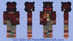 i prefer loneliness over sympathetic phoniness Minecraft Skin