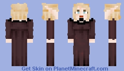 [LotC] Elfess in Black Minecraft Skin