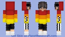 Red/Orange/Yellow Hoodie | #2 Minecraft Skin