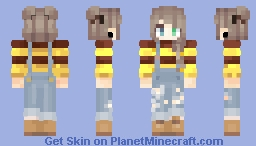 Bee Jumper & Overalls Minecraft Skin