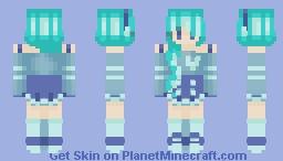 .•° Spearmint °•. Minecraft Skin