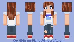 yo i made myself Minecraft Skin