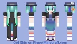 juwakigoshi ni kikoeta koe ga Minecraft Skin