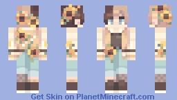 Sunflower Minecraft Skin