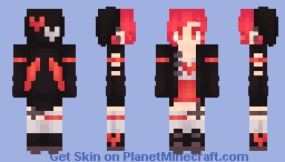 | My Heart's On Fire | ~* Marma *~ Minecraft Skin