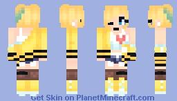 | Phone Addiction | ~* Marma *~ Oc + Art Minecraft Skin
