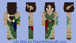 Syllia Wood Elf [LotC] Minecraft Skin