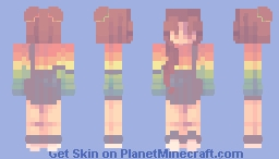 Trade - Taste the Rainbow Minecraft Skin