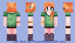 Alex (Revamp V2) Minecraft Skin