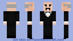 Alfred Pennyworth: The Animated Series Minecraft Skin