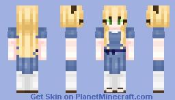 Alice In wonderland Minecraft Skin