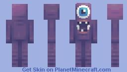 Deception (Aliens Vs. Astronauts Contest) Minecraft Skin