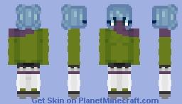 LilyBlossom6's Fix It Contest Entry! - Cute Alien Girl - Kiez Minecraft Skin