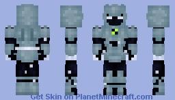 Alien X - Ben 10  Fan Design Minecraft Skin