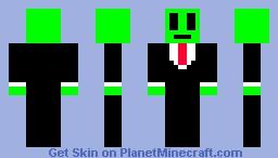 alien businessman Minecraft Skin