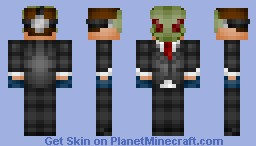 Skin Request - Payday Alienware (Olive) Minecraft Skin