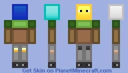 All Your Blocks' Minecraft Skin Minecraft Skin
