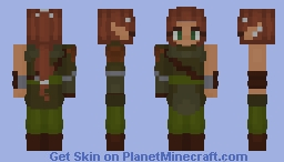 Allayria Character - RPG Entry Minecraft Skin