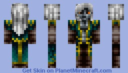 Alucard (Castlevania: Lords of Shadow: Mirror of Fate) Minecraft Skin