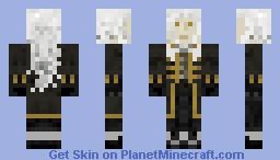 Alucard castlevania Minecraft Skin