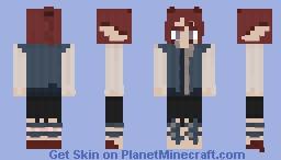 Amara Anthar - The Small Wyvern - Version 2 Minecraft Skin