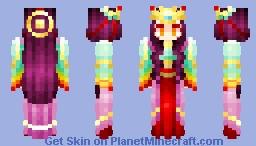 ~ Amaterasu | 天 照 ~ Minecraft Skin