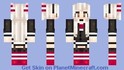 Amatsukaze Minecraft Skin