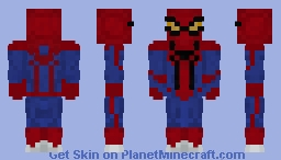 The Amazing Spider man - 2012 Minecraft Skin