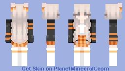 *+ Skintober day 23 - Amber +* Minecraft Skin