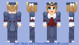 Patriotic Gown Minecraft Skin