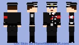 TMITHC [SS] American Obersturmführer Minecraft Skin