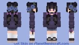 Twilight Amethyst V2 Minecraft Skin