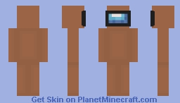 Among Us - Brown Character Minecraft Skin