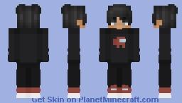 Carlos/AmongUs (E-boy styled) Minecraft Skin