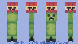 An Unwanted Gift (Black Arms In Desc) Minecraft Skin