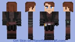 Anakin Skywalker | Clone Wars S3-S6 Minecraft Skin