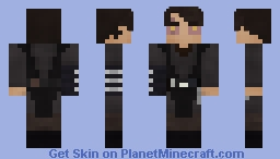 Anakin Skywalker | Sith | EPIII | Robeless Minecraft Skin