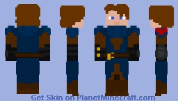 Anakin Skywalker Star Wars Clone Wars Minecraft Skin